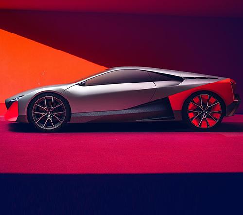 BMW ukazuje konceptem Vision M NEXT slibnou budoucnost sportovních vozů