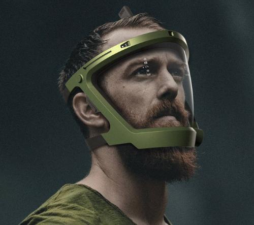 D-mask je unikátní koncept inteligentní digitální potápěčské masky