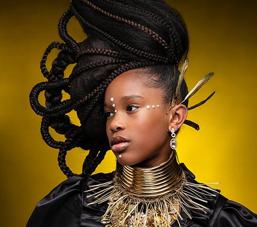 Manželé Regis a Kahran Bethencourt fotí snímky dětí, které oslavují krásu a kulturní dědictví afro účesů