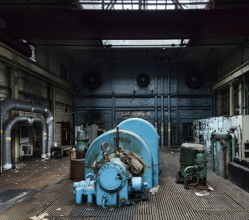 James Kerwin fotí poklady starých opuštěných industriálních budov