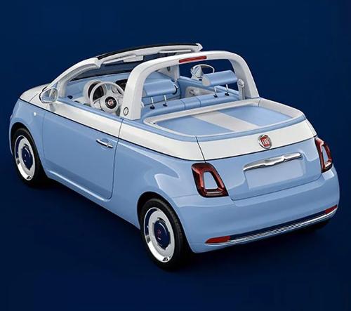 Fiat 500 Spiaggina oslavuje 60 let od svého debutu novým kabrio modelem