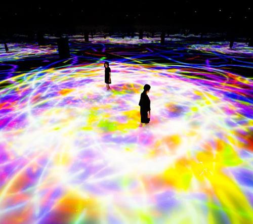 teamLab Planets TOKYO je nová virtuální expozice digitálního umění