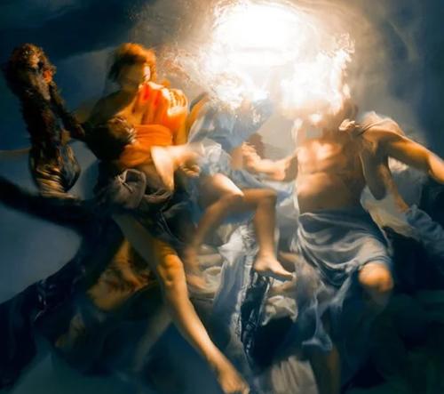 Christy Lee Rogers fotí úchvatné fotografie pod vodou připomínající scény z barokních obrazů