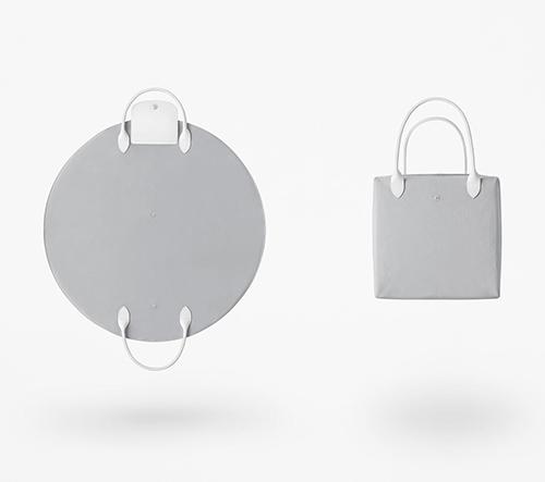 Nendo navrhlo pro Longchamp kabelky Katachi skládající se jako origami