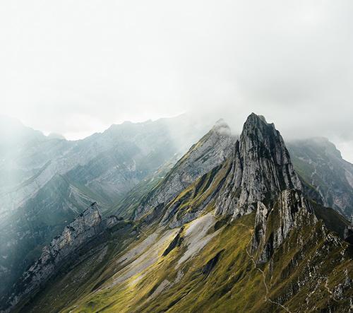 Marina Weishaupt nafotila dechberoucí záběry krásy hor v oblasti Alpstein