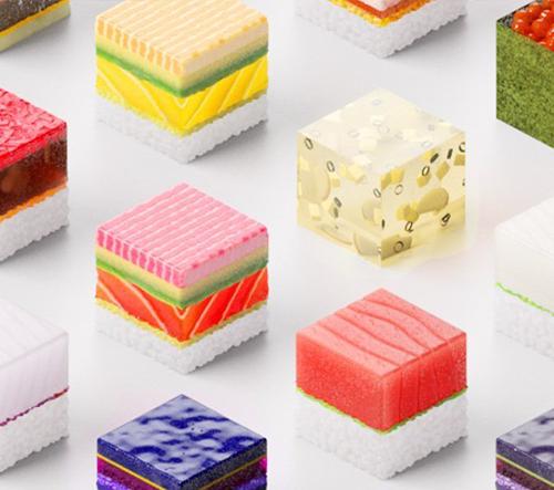 Japonská restaurace podává 3D tištěné sushi připravené každému hostovi na míru