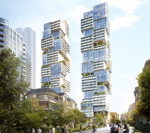 Ve Vancouveru se postaví mrakodrapy ve tvaru hry jenga