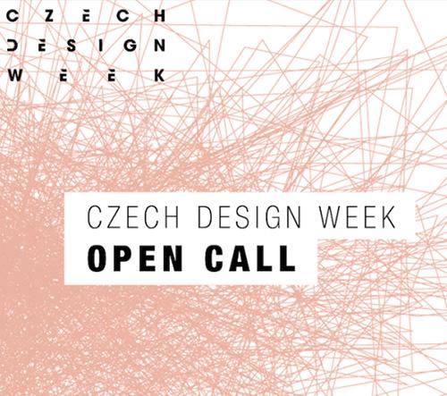 Open call: Czech Design Week 2016