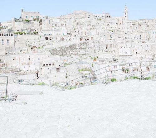 Ohromující fotky starověkého městečka Matera v jižní Itálii