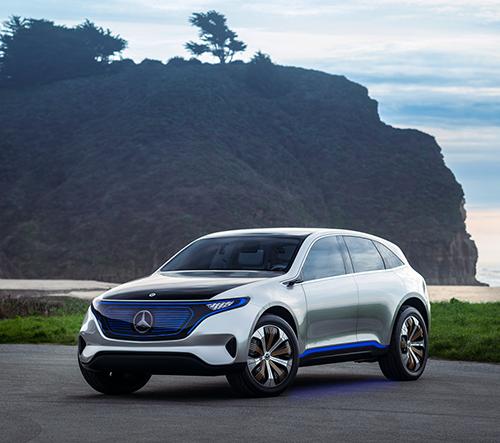 Mercedes představil nové detaily v sérii elektrických automobilů EQ