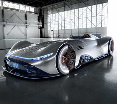 Mercedes-Benz odhalil svůj elektrický koncept EQ Silver Arrow