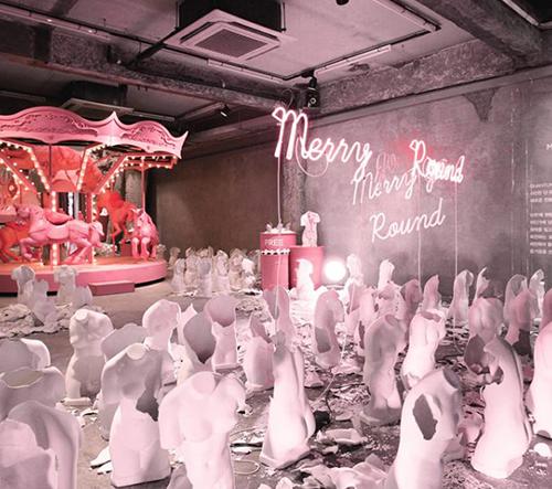Korejské studio Gentle Monster navrhuje avantgardní snové interiéry