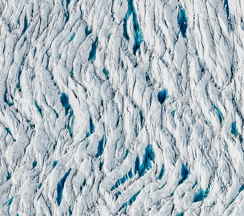 Tom Hegen dokumentuje dopad globálního oteplování z ptačí perspektivy
