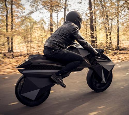 Nera je první elektrická motorka vytištěná na 3D tiskárně