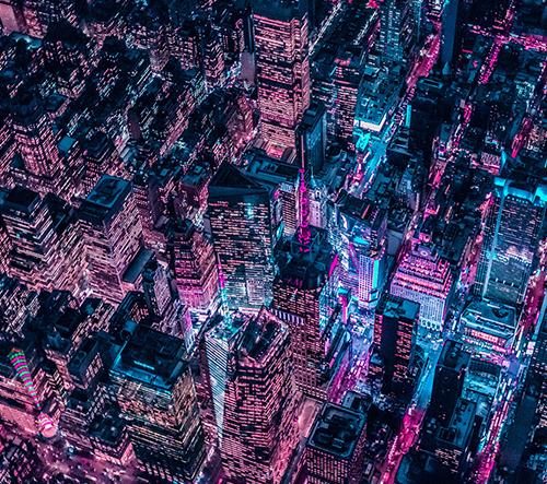 Fotograf Xavier Portela cestuje po světě a fotí snové noční velkoměsta