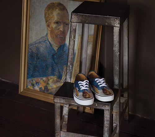 Vans uvádí kolekci bot s motivy obrazů od Vincenta Van Gogha