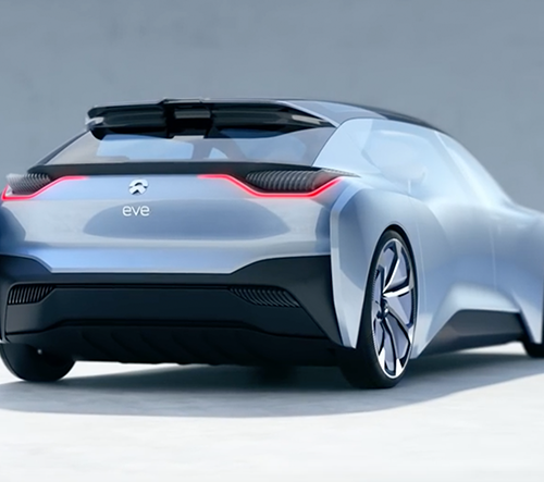 NIO představilo koncept auta roku 2020 jménem EVE