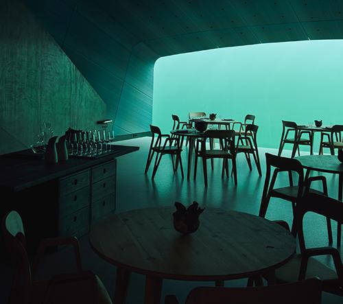 Studio Snøhetta navrhlo první evropskou podvodní restauraci