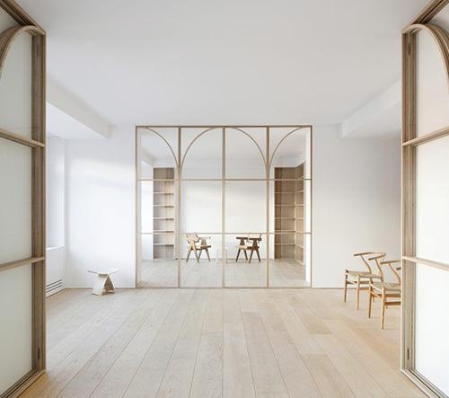 U.Ø je minimalistické bydelní v Madridu, které klade důraz na flexibilitu