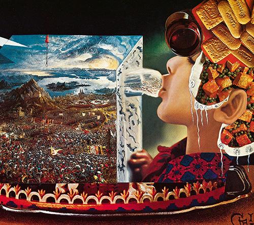 Bizarní kuchařská kniha Salvadora Dalího Les Diners de Gala byla po více než 40 letech znovu vydána