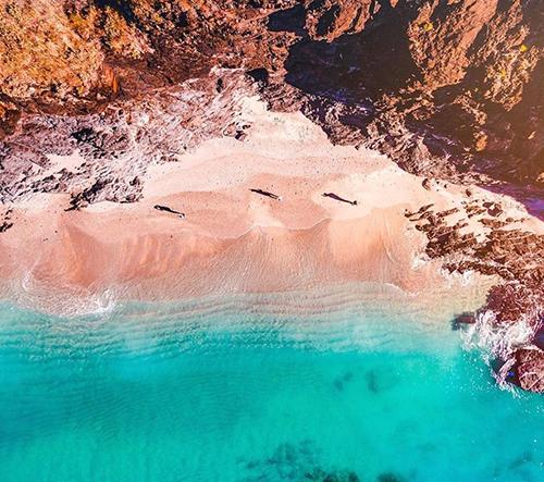 Jižní Austrálie z ptačího pohledu na fotkách nadšeného fotografa Mr Bo