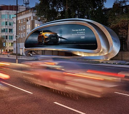 Zaha Hadid Architects navrhli pro JCDecaux unikátní billboard