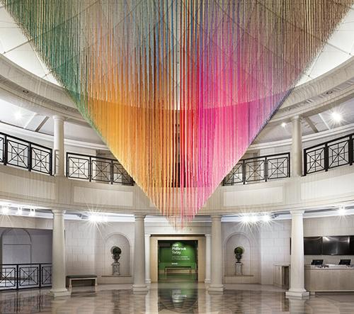 Umělec Hot Tea navrhl nové dechberoucí barevné instalace