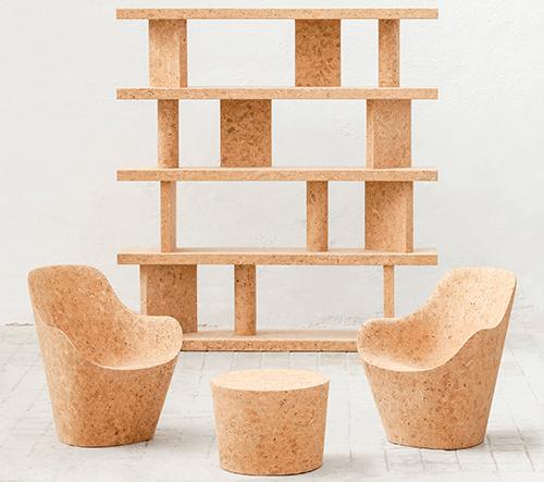 Jasper Morrison představil novou sérii nábytku z korku