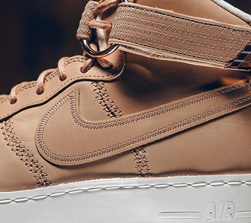 Nike Air Fields 1 Sport Luxury jsou luxusní tenisky ušité z kůže