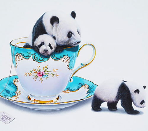 Jacub Gagnon vytváří surrealistické ilustrace zvířat