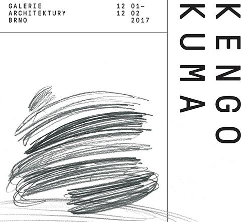 Galerie Architektury Brno vystaví díla významné osobnosti současné světové architektury KENGO KUMY