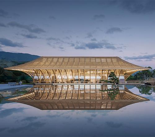 Studio Shanghai Tianhua v Číně vytvořilo architektonickou zen oázu