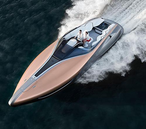 Motorový člun Lexus Sport Yacht získal prestižní ocenění a jde do výroby