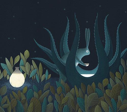 David Álvarez a jeho tajemné pohádkové ilustrace