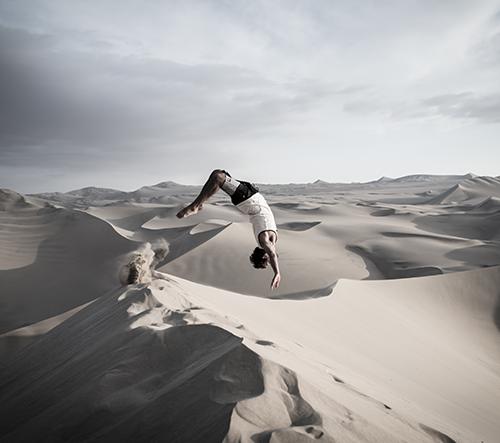 Odhalte krásu pouště v Peru s fotografem Léem Coulongeatem