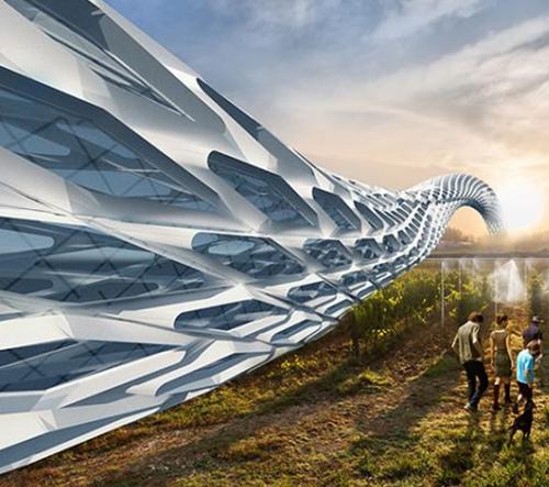 G-ROAD je projekt architektonické vize pro zelenou a zdravou civilizaci
