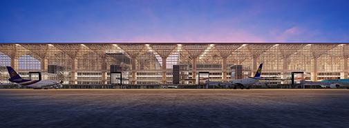 Nové letiště v Bangkoku bude inspirované lesem a přírodou, nebude chybět krytý vodopád
