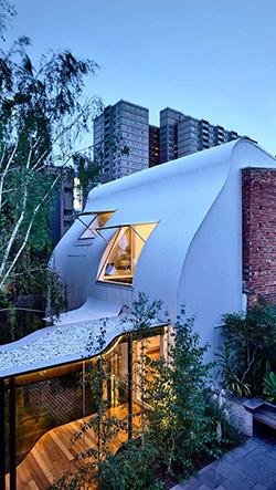 King Bill je hravě zrekonstruovaný snový dům v Melbourne