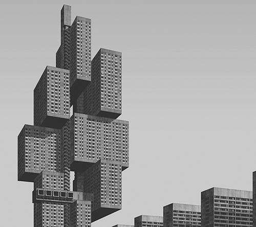 Clemens Gritl digitálně zkoumá městské utopie 20. století