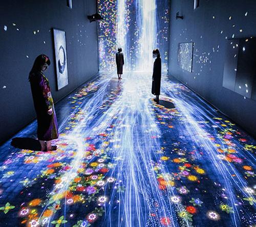 Interaktivní instalace v Galerii výtvarného umění v Londýně