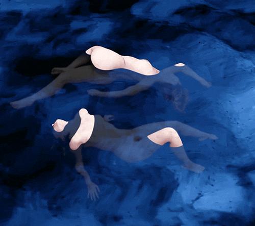 Sam Cannon se specializuje na vytváření surrealistických animovaných obrázků