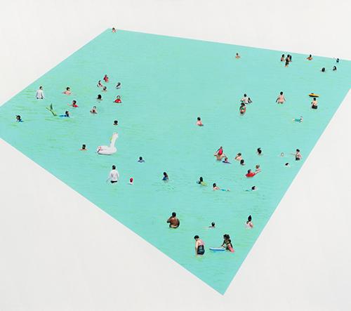 Kirsten Beets zobrazuje Interakci lidí a přírody