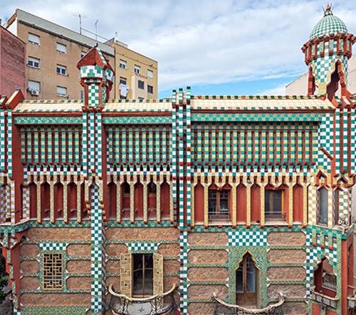 Gaudího první dům Casa Vicens se otevře veřejnosti