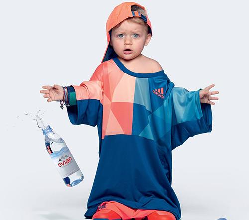 Agentura BETC vytvořila novou reklamnou kampaň pro Evian