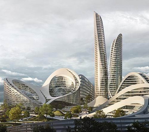 Studio Zaha Hadid postaví poblíž Moskvy nové inteligentní město