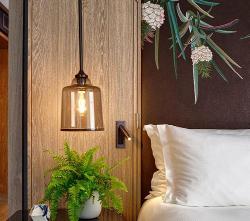 V Londýně se můžete ubytovat v prvním veganském hotelovém pokoji od studia Bompas & Parr