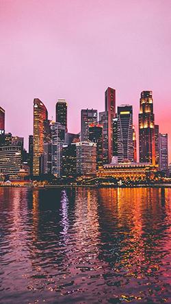 Ohromující fotografie singapurské architektury