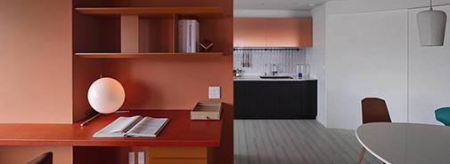 Barevné interiéry od Waterfrom Design Studio