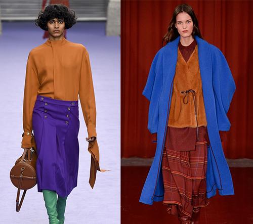 Největší trendy podzimu a zimy 2017 představeni na londýnském týdnu módy