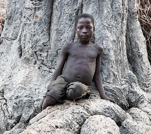 Portréty afrických dětí fotografa Gustava Willeita